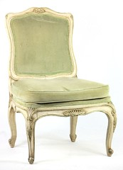 44. Oversized French Side Chair