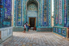 Breaking the Fast of Ramadan (Samarkand) (cabarius) Tags: world travel nikon silkroad hdr d4 5xp