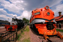 Rio Grande Memories (Jeff Carlson_82) Tags: railroad station train colorado 8 railway tourist co shay depot railfan 402 steamengine coveredwagon royalgorge f7 421 emd canoncity funit cnw chicagonorthwestern drgw crrx westsidelumber