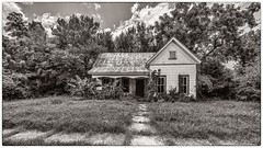 Fixer Upper (Oliver Leveritt) Tags: nikond610 afsnikkor1635mmf4gedvr oliverleverittphotography wideangle house texas smithville blackandwhite monochrome sepia platinum