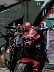 P1200386 (O.Th Photographie) Tags: fighter motorrad blutwurst prchen industrie alt ps gefhrlich grafiti look badboy elbside fighters