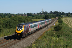 220xxx 19-07-16 (IanL2) Tags: class220 crosscountry northamptonshire trains railways bombardier