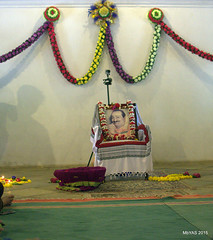 Closing program at Mandali Hall