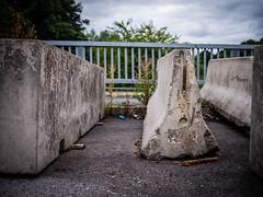 Nowhere Bridge (fishyfish_arcade) Tags: 20mmf17 gx7 lumix panasonic panasonic20mmf17asphlumixg bridge abandoned concrete