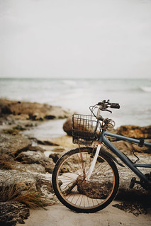 A Tulum vibe with its beautiful beach, peaceful ambience and bikes
