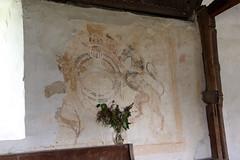 Disserth, Radnorshire (Vitrearum (Allan Barton)) Tags: disserth radnorshire church medieval wallpaintings royalarms