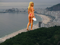 Copacabana beach from up above. (vogelfd1) Tags: thong giantess booty