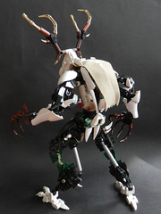 Makuta Leshen (Kingmarshy) Tags: lego bionicle hero factory g2 umarak makuta leshen revamp contest rebrick entry evil moc skull bones death