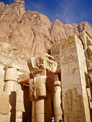 Deir el-Bahari, Louxor, Égypte