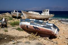 Cantiere navale (paola.tarroni) Tags: holidaysvacanzeurlaub barche elafonissos laconia grecia boat
