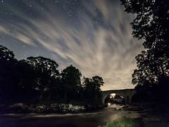 Devil's Bridge, Kirkby Lonsdale (diamond-skies) Tags: devils bridge kirkby lonsdale starry skies nightscape