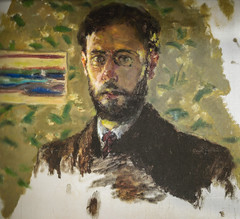 Pierre Bonnard - Self Portrait, 1904 at Pierre Bonnard: Painting Arcadia Exhibit Legion of Honor Museum of Fine Arts San Francisco CA (mbell1975) Tags: sanfrancisco california unitedstates us pierre bonnard self portrait 1904 painting arcadia exhibit legion honor museum fine arts san francisco ca museo muse musee muzeum museu musum mze finearts gallery gallerie beauxarts beaux galleria french impression impressionist impressionism