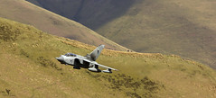Rule Of Thirds (Andy Tee) Tags: raf tornado gr4 royal air force mach loop bwlch layers rule of thirds military aircraft aviation hills mountains