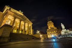 Gendarmenmarkt (erkan.oeztuerk) Tags: sonne sony 1018mm langzeitbelichtung ndfilter architektur a6000 weitwinkel wolken berlin deutschland art gebude