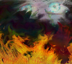 Burnt Hand Reaching (isaiahperry1) Tags: solitude backlit belowsurface blue dark desolate elegance lines rays rendered ripples shining sun sunbeams sunrays underwater water waves