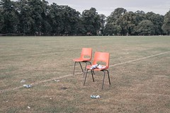 Racecourse 14 (Andy Feltham...) Tags: pentax k1 smcpentaxfa43mmf19limited racecourse northampton northamptonshire chairs umbrella festival