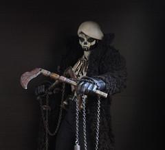 Phantom EDO (TKatagiri) Tags: toyphotography 3aa toy edo phantom deathmask threealegion threea ghost worldof3a 3avox