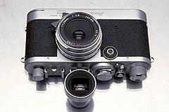 Leica IF, SYOOM Leicavit, Ricoh GR 28mm F/2.8, original finder (duncanwong) Tags: l leica if ltm m bayonet mount screw ricoh gr28 gr 28mm gr28mm f28 28 vg vf viewfinder finder