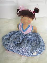 "Bom - 19"" Waldorf Inspired doll (DOWN UNDER WALDORFS) Tags: downunderwaldorfs handmadedoll naturaltoys popje puppen lalki boneca bambola waldorfinspireddoll waldorfdoll"