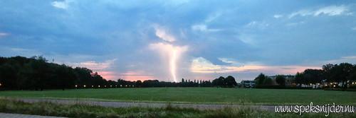 Onweer Amersfoort Park Schothorst