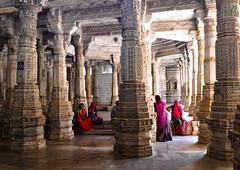 Ranakpur (PiccolaSayuri) Tags: ranakpur rajasthan india haryana uttarpradesh madhyapradesh delhi mandawa bikaner jaisalmer jodhpur udaipur jaipur agra fathpursikri gwalior orchha khajuraho varanasi incredibleindia hindu temples forts colours people faces