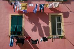 Genova (Giulia Gangemi) Tags: genova italy italia beautiful colorful vestiti clothes pink colors colori plain basic house building liguria