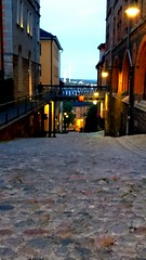 Cobblestones. (Papa Razzi1) Tags: 8011 2016 262365 cobblestones southside steep street stockholm sweden autumn september