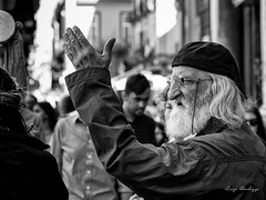 protesta (lurick.01) Tags: biancoenero centrostorico decumani luce napoli street