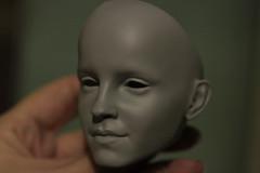 Эмма 1 (Sleep Owl) Tags: headsculpt bjd sd wip minimeebyowl owlsmoor