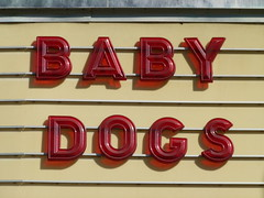 Best Picture 2016 (Jef Poskanzer) Tags: theater marquee babydogs puppies sign geotagged geo:lat=3779613 geo:lon=12227783 t