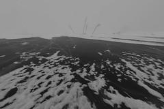 what lies beneath II (Mindaugas Buivydas) Tags: lietuva lithuania minimal minimalism winter february snow ice frozen nemunasdelta nemunasdeltaregionalpark nemunodeltosregioninisparkas vent vente ventsragas curonianlagoon moody mood cold frost sadnature fisheye snowfall snowstorm blizzard humantouch kurimarios capevent
