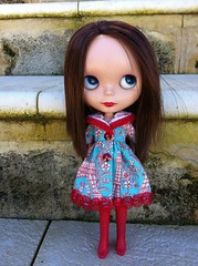 Of course it's mine!  It's red! (2tMargarett) Tags: blythe bl rosiered wingsinflight