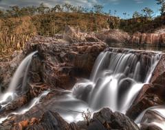 Waterfall on Puzzle Creek (wtfai) Tags: bush creek bushwalking hiking gorge hiddenvalley landscape ndx400 northqueensland northqueenslandbushwalking waterfall tropicalqueensland