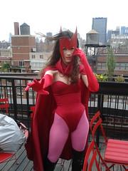 Scarlet Witch (pikaman206) Tags: new york boss black cake cat comics cosplay anniversary spiderman midtown xmen marvel 50th avengers deadpool