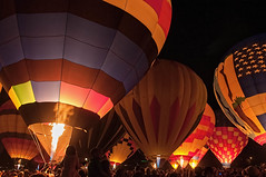 Balloon Glow (iceman9294) Tags: colorado glow balloon coloradosprings coloradoballoonclassic balloonnighttimecolorado
