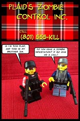 Plaid's Zombie Control INC. (bugboy3000) Tags: lego brickarms zombielego brickwarrior brickarmycom brickwarriors legozombiebrickarmsbrickwarriorsbrickarmycomafollegozombie
