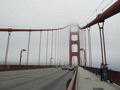 San Francisco - Third Day #8 (escailler arthur) Tags: sanfrancisco california bridge usa cloud colors fog america photography photo day unitedstatesofamerica goldengatebridge vancayzeele