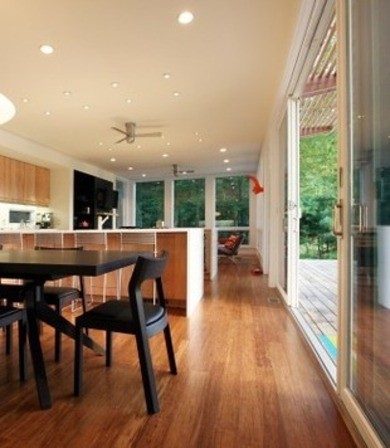 piso bambu cocina