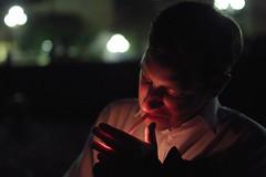 Tristan (Gwenaël Piaser) Tags: nice july 2012 juillet france francia nizza unlimitedphotos gwenaelpiaser canon eos 7d canoneos eos7d canoneos7d 35mm 35mmf14 canonef35mmf14lusm ef35mmf14lusm 35l portrait face cigarette light smoking fumer 500 1000 linkinternet prime