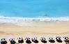 Heaven (Mini3686) Tags: travel blue beach yellow see lefkada flickraward 100commentgroup panoramafotográfico flickraward5 rememberthatmomentlevel1 magicmomentsinyourlife