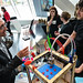 3D printer demos and X keychains at TEDxDublin 2012