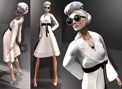 White Fall (Anna Sapphire) Tags: fashion model secondlife nardcotix annasapphire veromodero hmaem loovusdzevavor