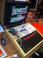 BBC Micro at Maker Faire
