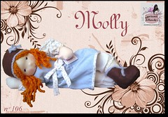 Molli - 106 - (Luciana Dollsmaker) Tags: doll arte bambini rag serie ragdoll bambole gioco giocattoli hobbie stoffe artigianato cucito infanzia bamboledipezza bamboline hobbistica lavorifattiamano lucianadollsmaker