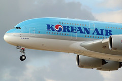 Korean Air - A380-861, HL7615 (Bernd 2011) Tags: airplane lumix airport aircraft panasonic korean airbus a380 approaching koreanair 861 hl7615 fz48