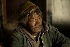 Old man. Korzog. Ladakh.Jammu kashmir.India (courregesg) Tags: portrait people india lake traditional kashmir himalaya ethnic ladakh jammu tsokar korzok nomades