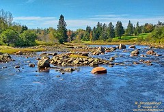 The Narraguagus River, Cherryfield, Maine (PhotosToArtByMike) Tags: me creek river landscape maine scenic cherryfield landscapephotograph narraguagusriver blueberrycapital