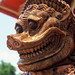 Temple guardian, Ubon Ratchathani, Northeast Thailand
