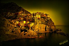 ~~ Manarola, Italy a perspective ~~ (stephgum32807) Tags: italy texture italia expression ngc cinqueterre manarola hdr photomix creativephotocafe