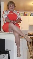 100_0322 (didi_lynn) Tags: sexy drag highheels sandals jewelry pearls crossdressing hose tgirl blond blonde upskirt hosiery dragqueen pantyhose crossdresser crossdress gurl platforms tg sexylegs longlegs nylons classy rednails bigtits pearlnecklace girdle longnails